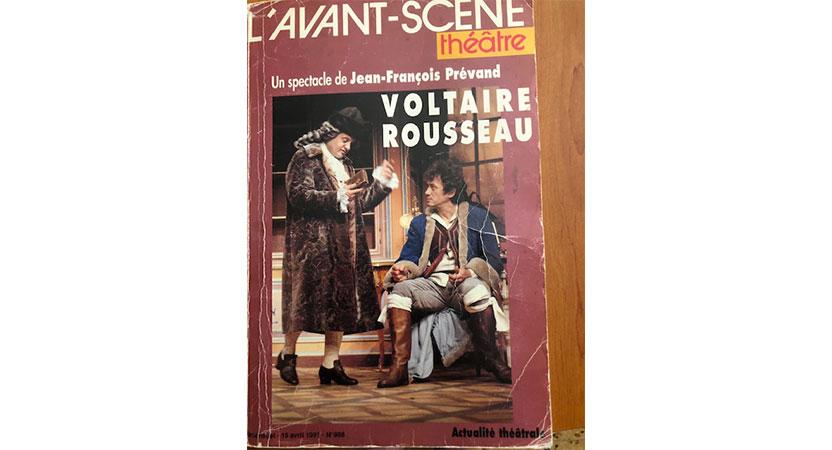 VOLTAIRE ROUSSEAU de Jean François Prévand